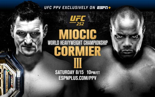 Ufc 252 Preview Winner Of Main Event Best Heavyweight Fighter Ever The Sports Tank